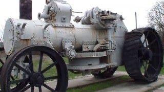 Немецкий стальной монстр. Паровой трактор DAMPF PFLUG FABRIK 1890 года.