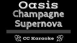 Oasis • Champagne Supernova (CC) [Karaoke Instrumental Lyrics]
