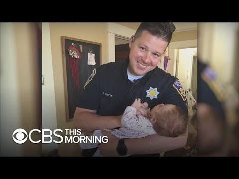 California cop adopts daughter of homeless woman battling addiction