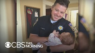 California cop adopts daughter of homeless woman battling addiction