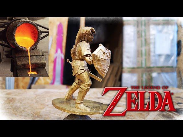 Bronze Casting Link From Zelda - Matal Casting
