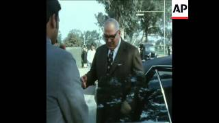 SYND 9-3-73 THE  EGYPTIAN FOREIGN MINISTER ON A VISIT TO INDIA