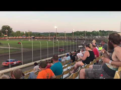 6/8/2018 Heat race from Lakeside Speedway