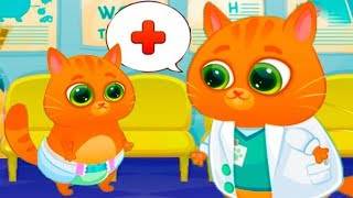 МАЛЕНЬКИЙ КОТЕНОК БУБУ или Доктор кот #91 Новогоднее обновление вместе с Кидом. Детская игра