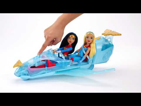 DC Super Hero Girls Wonder Woman And Invisible Jet Playset | Toys R Us Canada