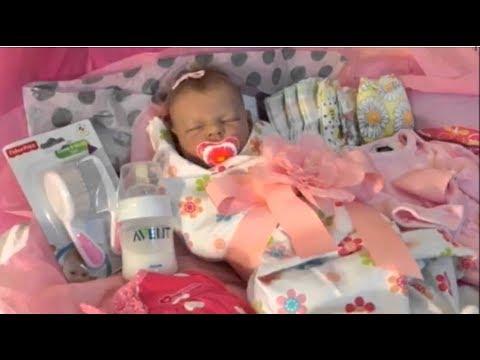 Распаковка куклы реборн / Reborn Baby Box Opening / Silicone Baby