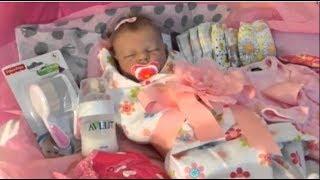 Обложка на видео - Распаковка куклы реборн / Reborn Baby Box Opening / silicone baby