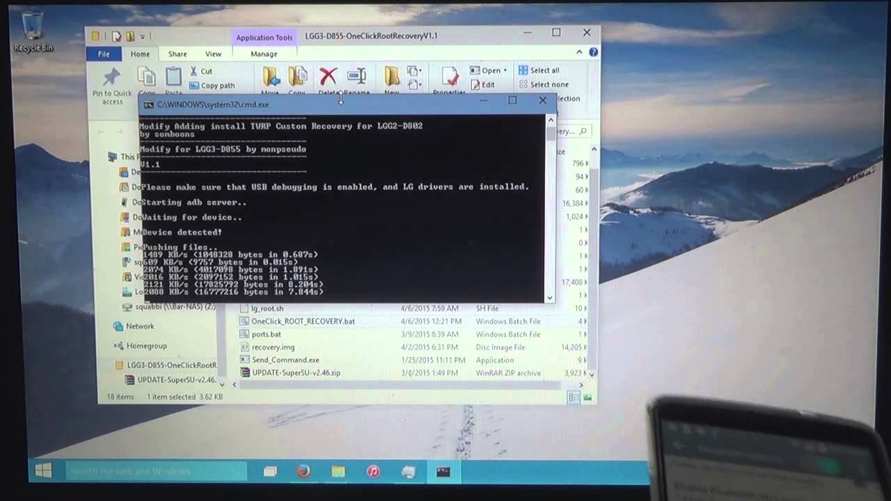 LG G3: One-Click Root and TWRP | D855 Only!