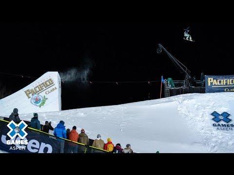 Laurie Blouin wins Women's Snowboard Big Air gold | X Games Aspen 2019