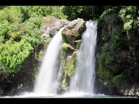 Walking Going to Bunga Falls or Twin Falls of Nagcarlan Laguna