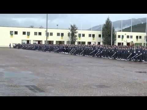 GIURAMENTO ALLIEVI MARESCIALLI GdF 87° CORSO.avi