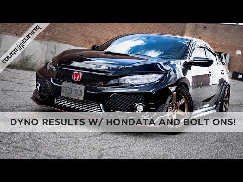 Tuning the Honda Civic Type R with Hondata and Bolt Ons! Baseline & Custom Tune Dyno Results
