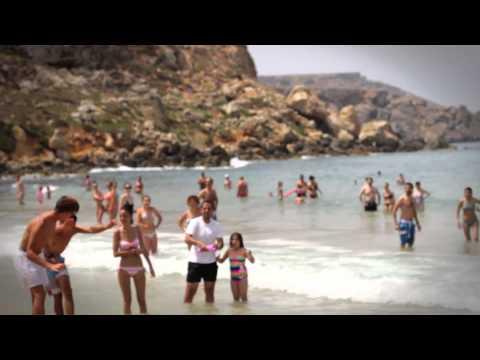 Air Malta - Surprise Dance at Golden Bay