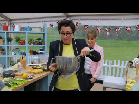 Mel & Sue chase the chocolate mousse - The Great British Bake Off: Series 5 Episode 1 - BBC One