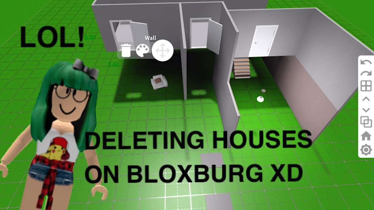 Deleting Peoples Houses On Bloxburg Lol Youtube