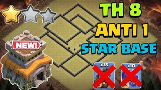 BEST Th8 ANTI 1 STAR BASE ! [Top 5] with COPY LINK 2020 In Clash Of Clans - COC [ New 2020 Bases ]