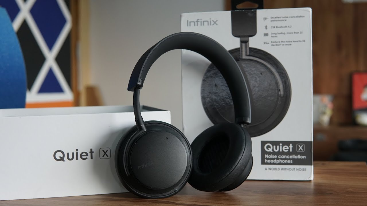 Infinix Quiet X Bluetooth Headset