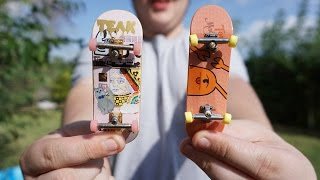 TECHDECK VS FINGERBOARD