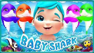 Baby Shark Dance at the School Theater +The BEST SONGS For Children - Viola Kids Songs [HD]