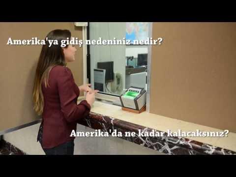 Ankara'daki Büyükelçilik'te Vize Görüşmesi
