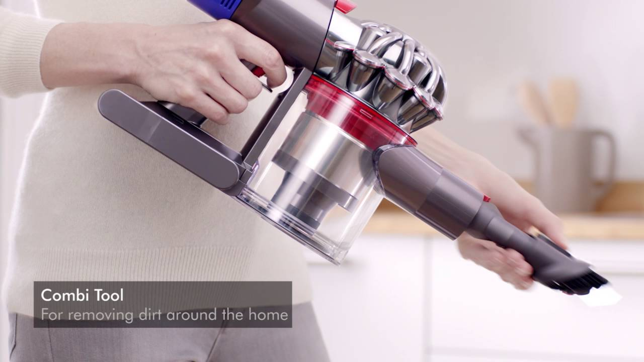 The Dyson V8 Absolute Cordless Vacuum Cleaner
