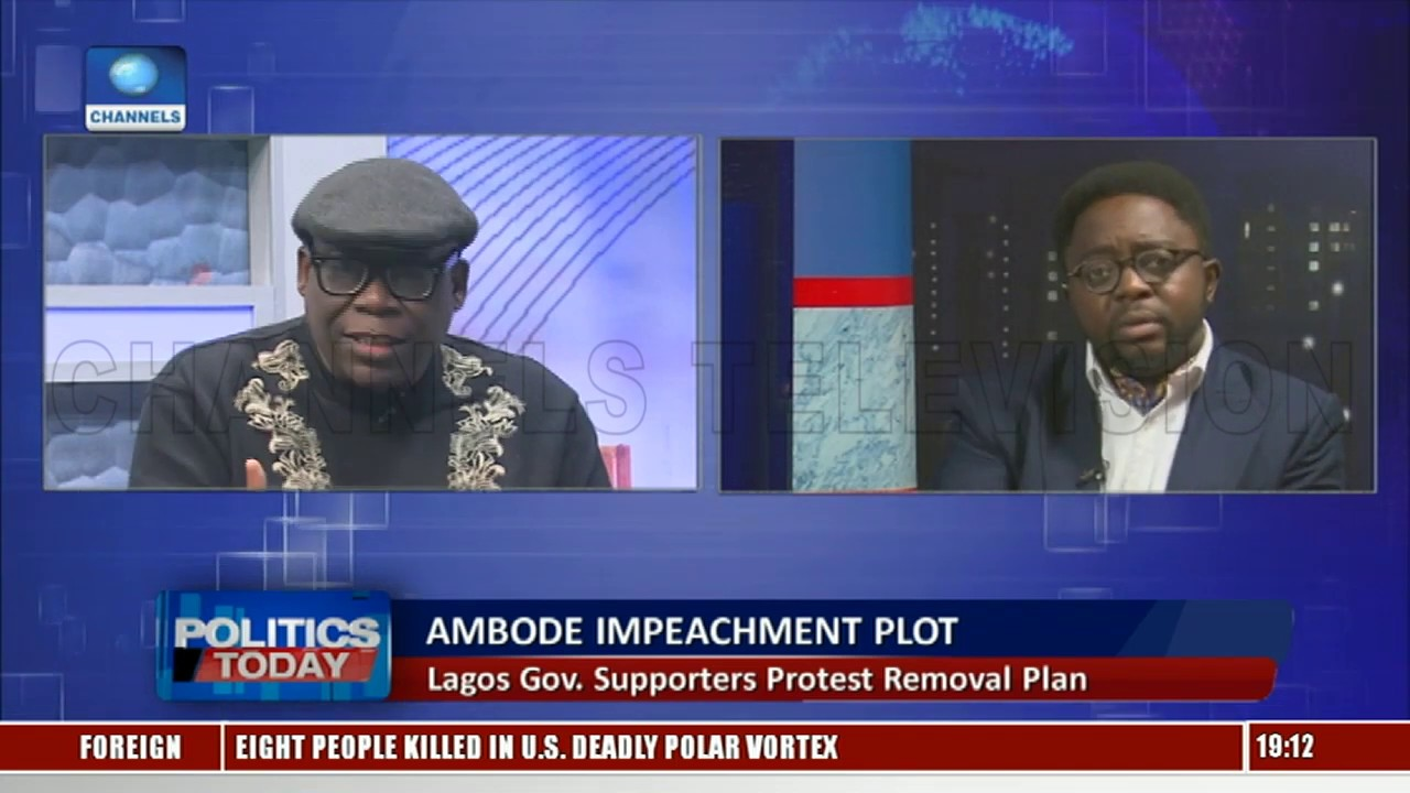 Ambode's Impeachment Plot Is Purely Political, Says Human Rights Activist |Politics Today|