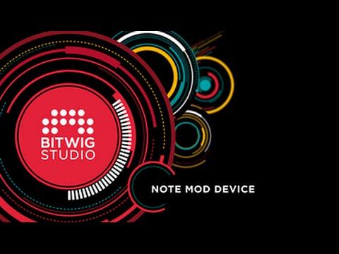 Bitwig Studio 1.1 Key Features Series Vol1: Note MOD Device