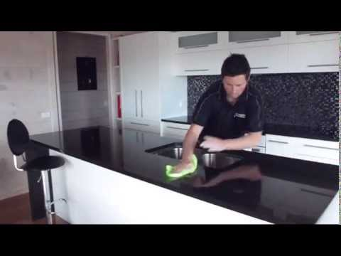 how to clean your granite countertop benchtop with. Black Bedroom Furniture Sets. Home Design Ideas