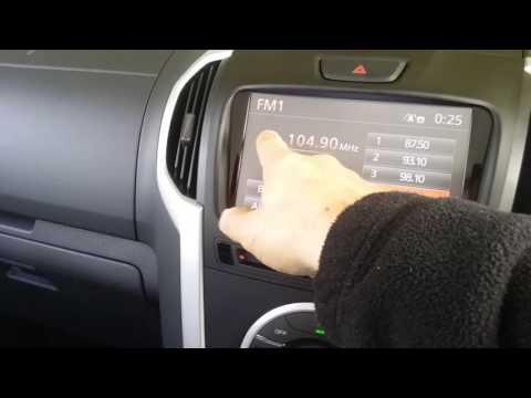 2016 ISUZU D-MAX and MU-X GPS INTEGRATED SATELLITE NAVIGATION IGO PRIMO