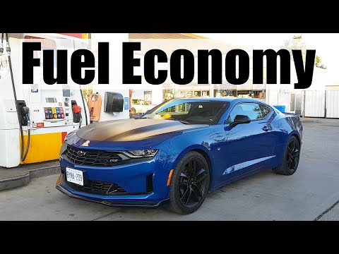 2020 Chevrolet Camaro - Fuel Economy MPG Review + Fill Up Costs