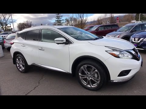 2016 Nissan Murano Reno, Carson City, Northern Nevada, Roseville, Folsom, NV A6152A