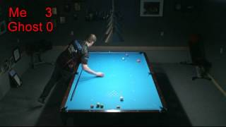 8 Ball Ghost Challenge Semi Pro 7-5 Win 10 Foot Brunswick