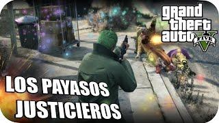 SHOLO GAMER23 Y EPSILONGAMEX EN GTA V ONLINE PAYASOS JUSTICIEROS #25 PS4 MISIONES Y CARRERAS