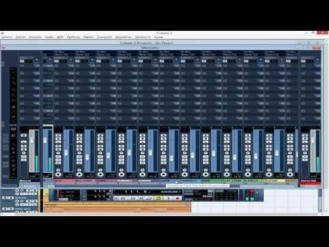 Tutorial Niveles De Audio en Mezcla Cubase