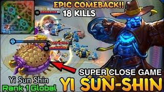 Mobile Legends - Top 1 Global YSS by Yi Sun Shin