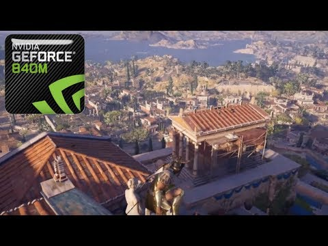 Assassin's Creed Odyssey - GeForce 840M/940M - Intel Core i5 4210U |