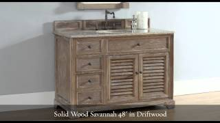 Restoration Style Bathroom Vanities - Homethangs.com
