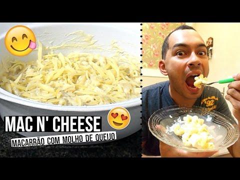 MAC N' CHESSE  (macarrão com molho de queijo) ♥ - Bruna Paula