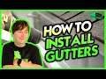 How To Install Aluminum Rain Gutters Learn From An Actual Professional Installer mp3