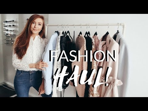 SPRING TRY-ON HAUL FEBRUARY 2018 - River Island, Cmeo, Keepsake & More!