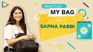 What's in my Bag with Sapna Pabbi | Fashion | Bollywood Hungama | Lifestyle