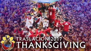 Traslacion | Feast of the Black Nazarene 2017 - Thanksgiving Procession