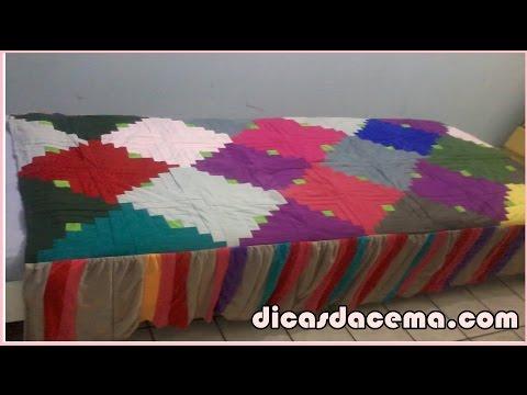 Colcha de Retalhos Passo a Passo - DICAS DA CEMA😊