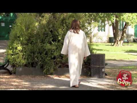 Ukryta kamera: Jezus lewituje