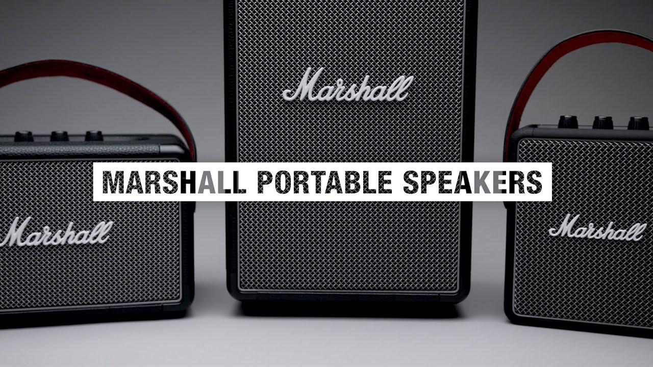 Marshall - Portable Speakers - Full Overview