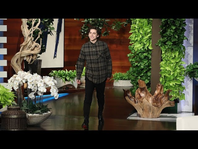 Timothée Chalamet Once Locked His Naked Mom Out on a Balcony