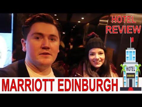 MARRIOTT HOTEL EDINBURGH TOUR AND REVIEW    TheBattistas Vlogs