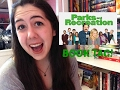PARKS AND REC BOOK TAG!