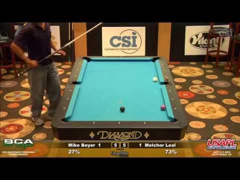 AZ 6 & Under Singles: Mike Boyer vs Melchor Leal