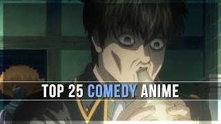 Top 25 Comedy Anime